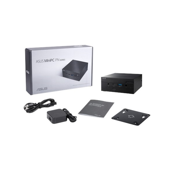 ASUS VivoMini PC PN62, Intel Core i5-10210U, HDMI, WIFI6, BT5.0, 3xUSB 3.1, 2xUSB Type-C, Card reader, 1 Conf. port (PN62-BB5004MD)