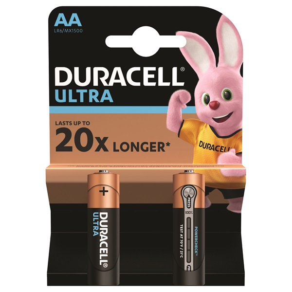 Duracell UltraPower 2 db AA elem (5000394058880)