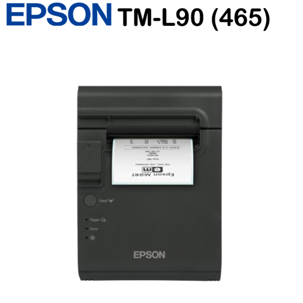 Epson TM-L90 (465) blokknyomtató, Ethernet+Built-in USB, PS, EDG, Black, Ethernet interface