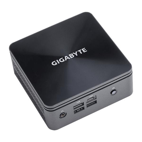 "GIGABYTE PC BRIX, Intel Core i7 10710U 4.7GHz, 2xHDMI, LAN, WIFI, BT, COM. 2,5"" HDD hely, 6xUSB 3.2 (GB-BRI7H-10710)"