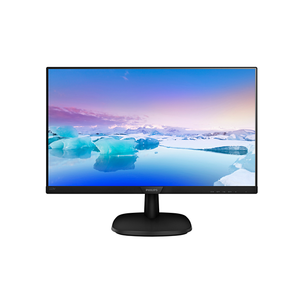 "Philips IPS monitor 21,5"" - 223V7QDSB/00 1920x1080, 16:9, 250cd/m2, 4ms, VGA, DVI, HDMI (223V7QDSB/00)"